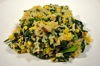 Corn Rainbow Chard and Baby Spinach Risotto