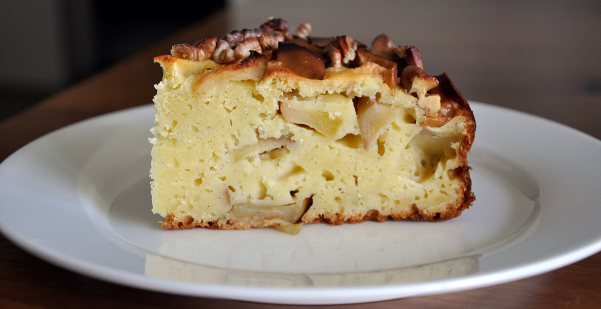 ... cake sour apple sour cream cake with spelt recipes dishmaps cinnamon