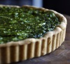 Nettle Green Pea and Zucchini Tart