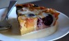 Peach Cherry and Blackberry Clafoutis