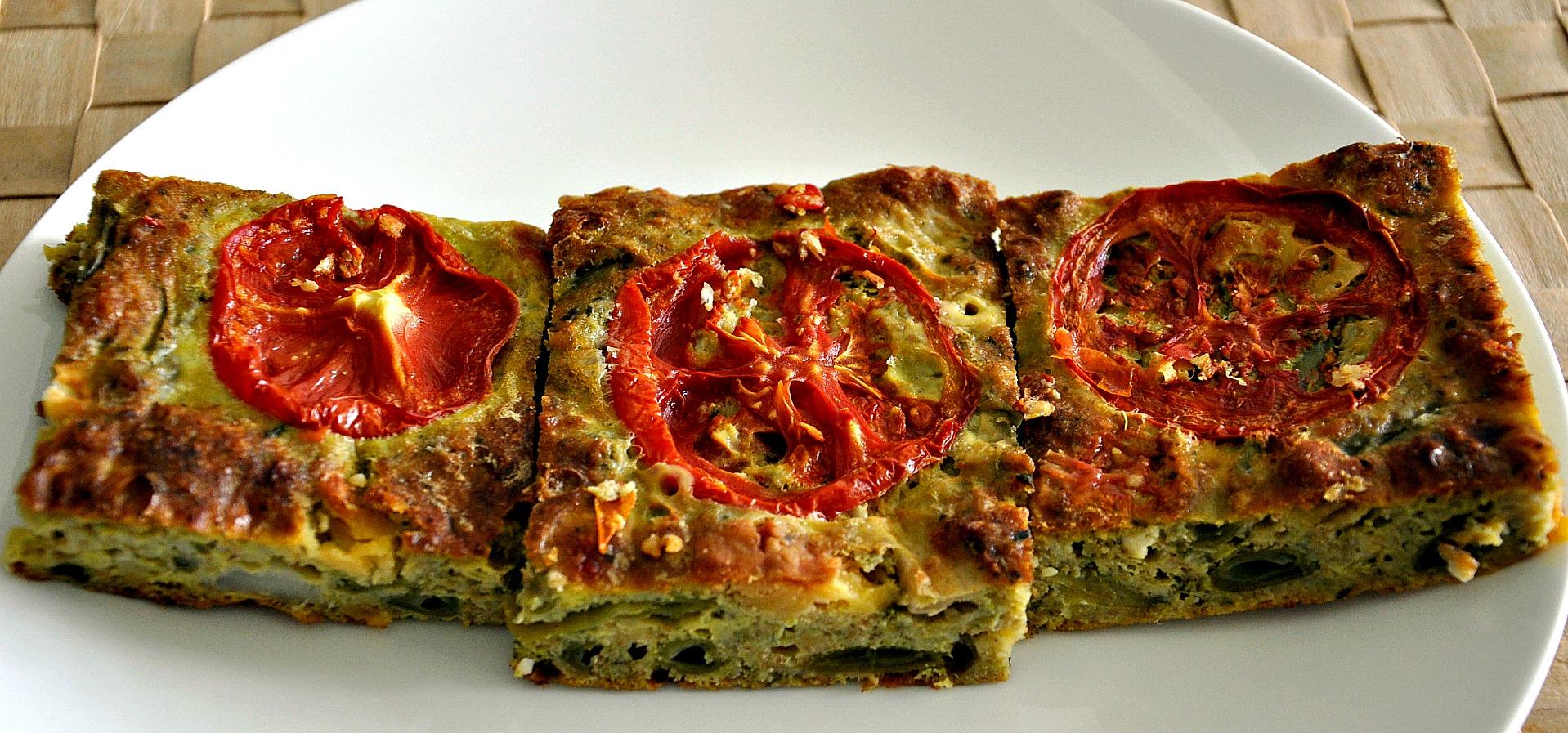 Green Bean and Zucchini Slice | Bistro Gerard